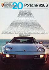 1982 Porsche 928S - 20 - Classic Vintage Advertisement Ad D70