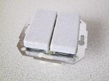 KOPP Serienschalter EUROPA granit-grau UP Unterpu Schalter Serien Doppelschalter