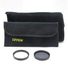 Tiffen 52mm UV & Circular Polarizer Filter Kit w/Domke Wrap *NEW*
