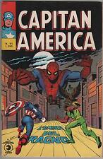 CAPITAN AMERICA corno N.51 L' OMBRA DEL RAGNO spider-man x-men l'uomo ragno 1975