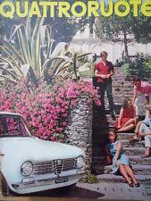 Quattroruote n°103 1964  - Test su strada Lancia Flavia Coupè 1.8   [Q79B]
