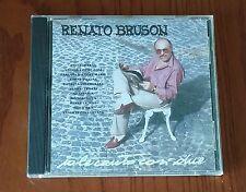 RENATO BRUSON - IO LE CANTO COSI' DUE - CD