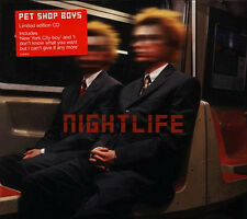 PET SHOP BOYS - NIGHTLIFE Limited Digipack Edition CD