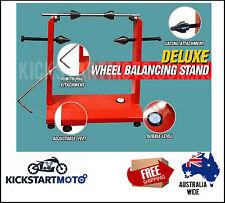 Motorbike Motorcycle Static Wheel Balancer Balancing Tyre Stand Motor Clubman