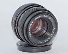 PENTAKON auto 1.8/50 M42 MULTI COATING lens for DSL/SLR camera #5995550