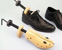 1/2X Ladies Womens 2 Way Wood Boot Shoe Tree Stretcher Shaper Adjustable Bunion