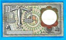 More details for rare replacement netherlands p85/mwr rb27 10 gulden l# brn 046892 23.3.53 axf