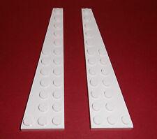 Lego (47397/47398) 2 Flügelplatten 3x12 (1x R.+1x L.),in weiß aus 8088 7198 7747
