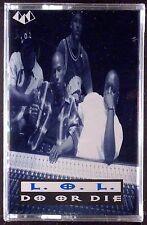 L.O.L.-Do Or Die LP CASSETTE RAP PYRAMID 1994 SEALED OOP