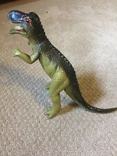Vintage 1979 Imperial Toy Dinosaur Hard Rubber Figurine 1970s Hong Kong Rare