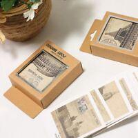 DIY Fashion Creative 40Pcs/lot Gift Mini Postcard Vintage Greeting Cards