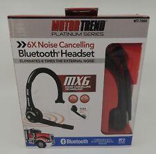 Motor Trend Platinum MT7000 Bluetooth Headset Black NEW