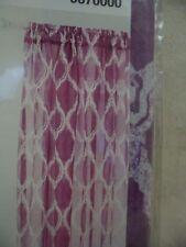 "Classy Purple ""Jareth"" Drapery Panel 50""x84"" Rod Pocket - Curtain Drapes"