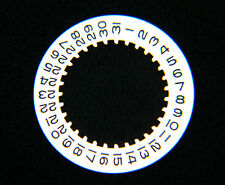 100% Authentic Factory Rolex White Date Indicator Wheel Disc Caliber 3035 5099