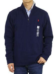 Polo Ralph Lauren Boy's Pullover Mockneck 1/2 Zip Sweatshirt Sweater - 2 colors