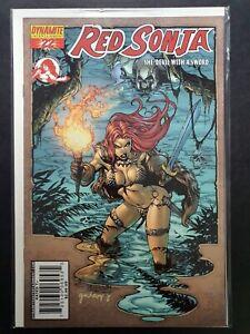 RED SONJA: SHE DEVIL WITH A SWORD #22 DYNAMITE 2007 NM+ STEPHEN SEGOVIA COVER