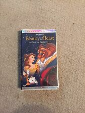 Walt Disney Beauty and the Beast Platinum Edition VHS  New Musical Sequence RARE