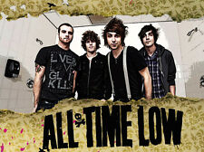 All Time Low Rock band Fabric Art Cloth Poster 17inch x 13inch  Decor3