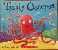 TICKLY OCTOPUS BY RUTH GALLOWAY ~ NEW PAPERBACK BOOK