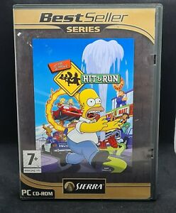 The Simpsons: Hit & Run 3 Disc PC CD-Rom Game - Complete
