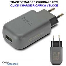 Caricabatteria Originale HTC One M7 M8 M9 10 Presa Trasformatore Alimentatore 3a