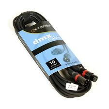 XLR 3-pol DMX-Kabel, Digital AES-EBU 110 Ohm, 10m Länge