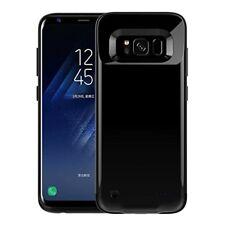 Redgo Samsung Galaxy S8 Rechargeable externa Batterie Case, Ultra Mince de Protection