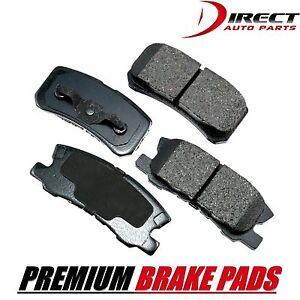 Rear Premium Brake Pads Set For Chrysler 200 Sebring Dodge Avenger Caliber MD868