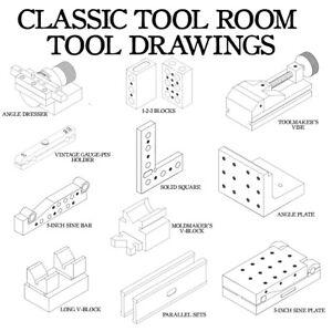 VINTAGE MACHINIST / TOOL ROOM TOOLS TO BUILD