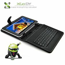 9'' inch Android 4.4 Tablet PC Quad Core 8GB Wi-Fi Dual Camera W/ Keyboard XGODY