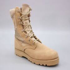Vibram Men's 5.5 W Desert Tan Suede Leather Combat US Military Army Boot