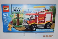 Lego 4208-City Fire Truck 4x4-243 Pc-Sealed Retired-7206/7208/4431-C Details NEW