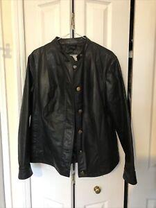 Leather Jacket Size 20
