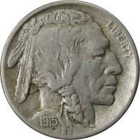 1915 D 5c Indian Head Buffalo Nickel US Coin VF/XF Very Fine / Extremely Fine