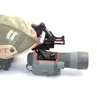 Tactical NVG Pineapple Mirror 20mm Fishbone Guide Rail J Arm Metal helmet Mount