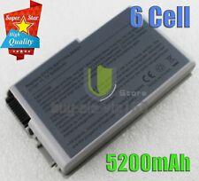 New Battery for Dell Latitude D600 D610 D520 D500 D505 D510 Silver Laptop