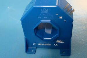NEW LEM LT 1005-S/SP26 1000A current transducer, closed loop Hall effect
