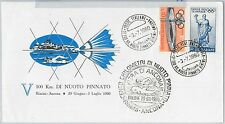 56545 -  SPORTS: SWIMMING - ITALY -  POSTAL HISTORY: SPECIAL  COVER 1960