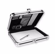 Folder Cabinet Key Lock Storage Organizer Office Home Metal Box Mobile Clipboard
