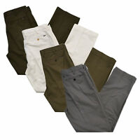 Polo Ralph Lauren Mens Classic Fit Stretch Chino Pants Casual Bottoms Slacks New