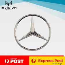 Mercedes Benz Chrome 90mm Logo Emblem Rear Boot Badge Class C B E S CLK SLK ML