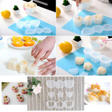 Cute Sushi Rice Mold Plastic Mould Bento Maker Heart Star Bear Shape Kitchen HS
