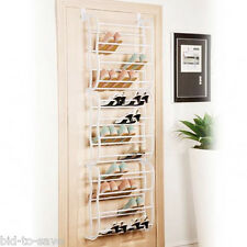 Felji 36-Pair Over The Door Shoe Rack Closet Space Saver Organizer Storage NEW