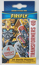 20 Sterile Plasters Boys - Transformers 4 Great Designs - Good Clean Fun