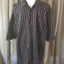 Mecca Shirt Works Engineered With Mecca Fibers Shirt Button Up Xl