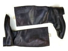 WWII German officer's leather boots TALISMAN MARKE - Ellit - VERY RARE