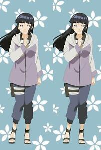 New Anime Naruto Hinata Hyuga Dakimakura Hugging Body Pillow Cover Pillow Case