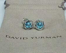 Blue Topaz Sterling Silver 7mm New listing