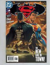 Superman Batman 8  Intro Supergirl!  Michael Turner Art!  1st Print 2004 NM