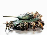 35207 Tamiya Russian Army Assault Infantry 1/35th Plastic Kit 1/35 Military